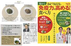 日経BPムック 日経ヘルス別冊腸から免疫力を高める!食べ方(P14-15)